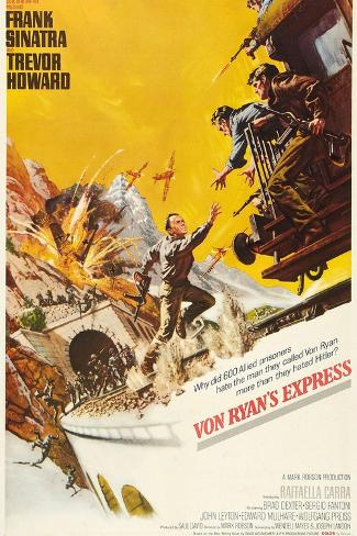 Von Ryan's Express, 1965, Directed by Mark Robson Giclee Print