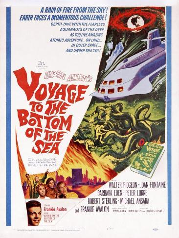 Voyage to the Bottom of the Sea Art Print