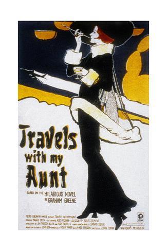 Voyages Avec Ma Tante Travels with My Aunt De George Cukor Avec Maggie Smith, 1972 Art Print