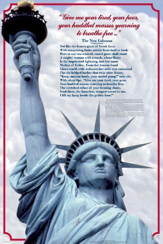Vrijheidsbeeld Poster