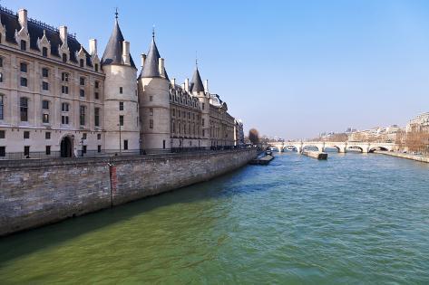 Conciergerie Palace in Paris Photographic Print