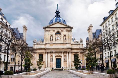 Sorbonne Square in Paris Photographic Print
