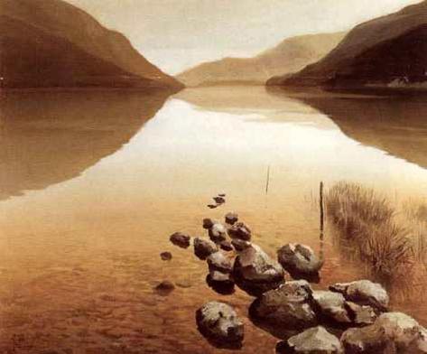 Calm Waters I Framed Art Print