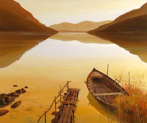 Calm Waters II Art Print