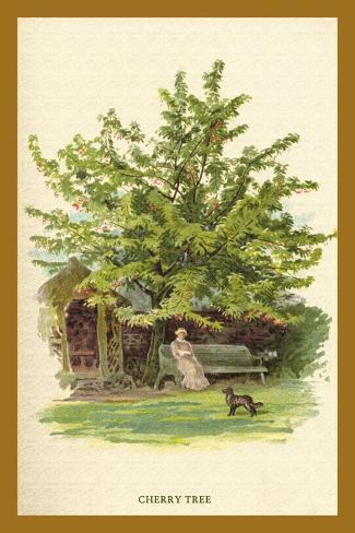 The Cherry Tree Decalcomania da muro