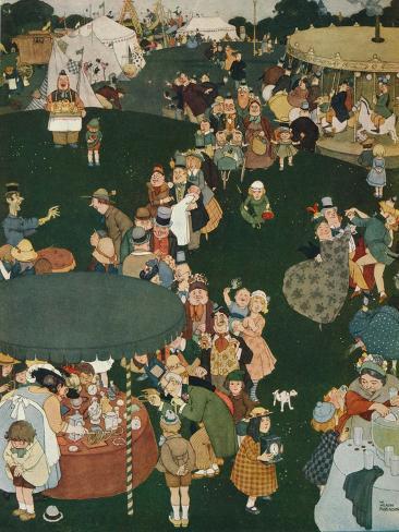 The Fair Day, C19th Century, (1925) Lámina giclée