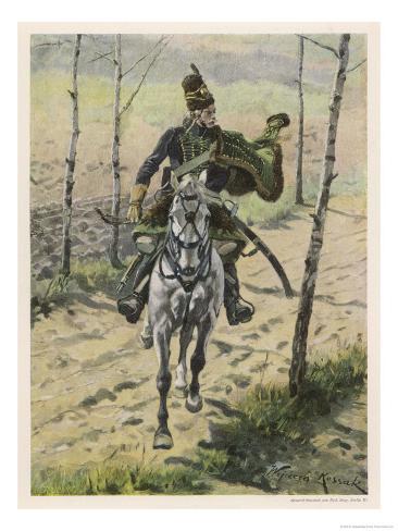 Poland, a Hussar Giclee Print