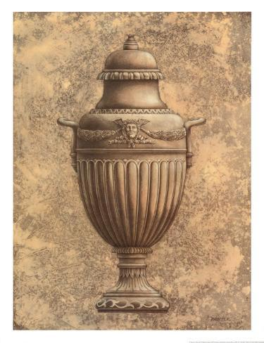 Classical Urn Series II Art Print