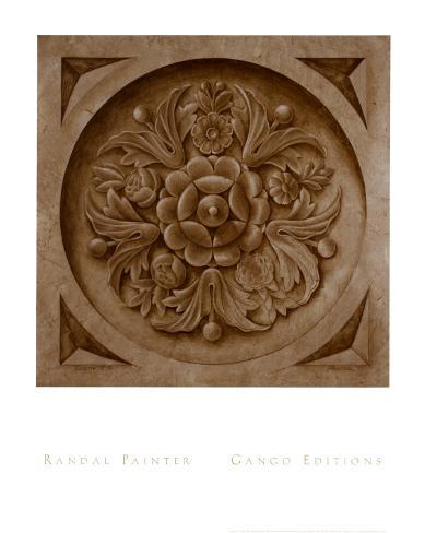 Rosette I Art Print