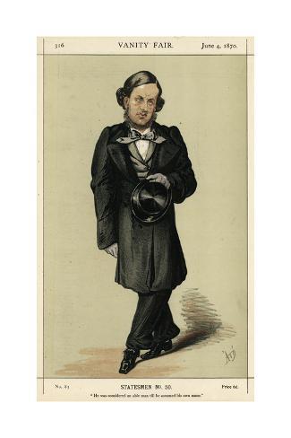 W V Harcourt, VFair 1870 Stampa giclée