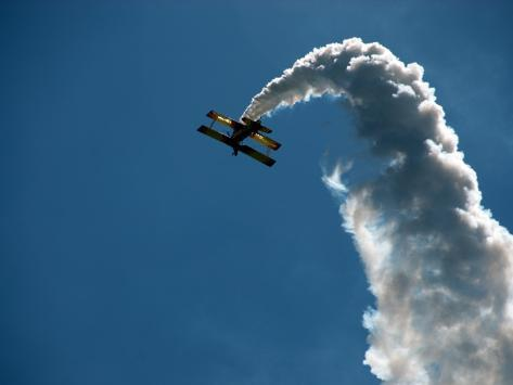 Aerobatic Grumman Ag Cat at Wings over Wine Country Air Show Photographic Print