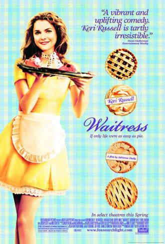 Waitress Double-sided poster