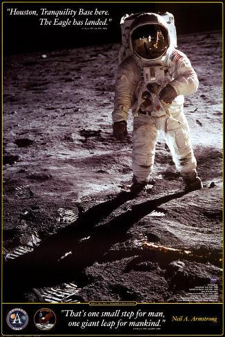 Walk on the Moon - Apollo Art Print