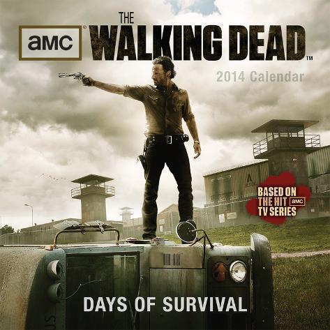 Walking Dead - 2014 Calendar Calendars