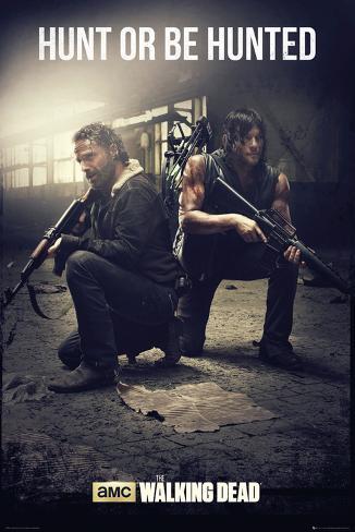 Walking Dead - Hunt Póster