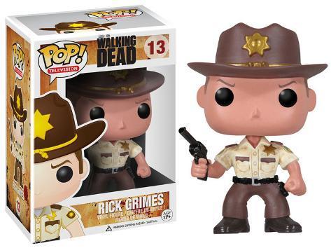 Walking Dead - Rick Grimes POP TV Figure Toy