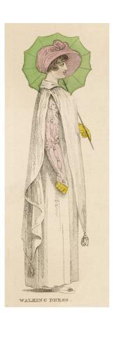 Walking Dress 1807 Impressão giclée