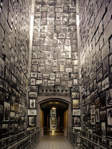Wall of Remembrance at the U.S. National Holocaust Memorial Museum Photo