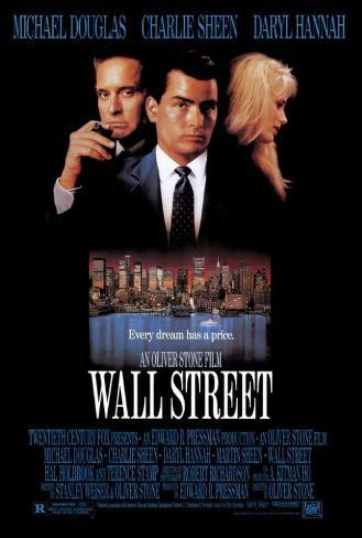 Wall Street Pôster