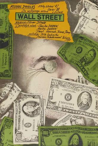 Wall Street Stampa su tela