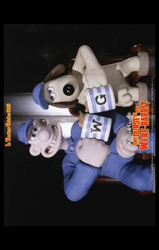 Wallace & Gromit: The Curse of the Were-Rabbit Impressão original