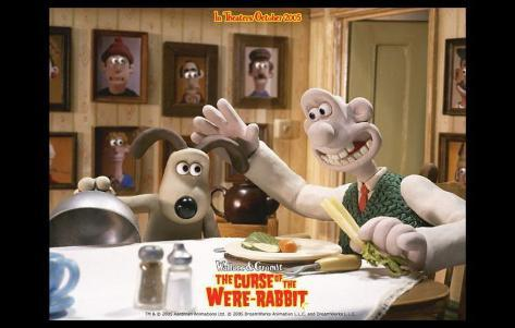 Wallace & Gromit: The Curse of the Were-Rabbit Masterprint