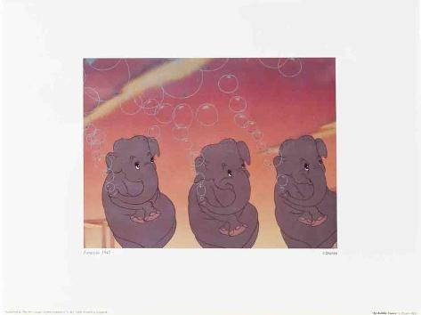Walt Disney's Fantasia: The Bubble Dance Art Print