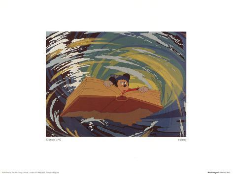 Walt Disney's Fantasia: The Whirlpool Art Print