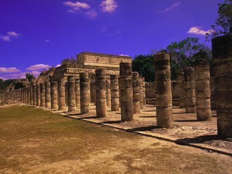 Ancient Mayan City Ruin, Chichen Itza, Mexico Photographic Print