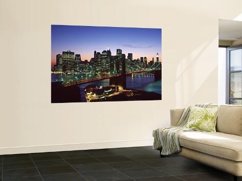 Brooklyn Bridge, New York City, USA Wall Mural