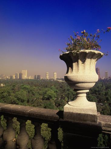 Castillo Chapultepec Balcony, Mexico City, Mexico Photographic Print