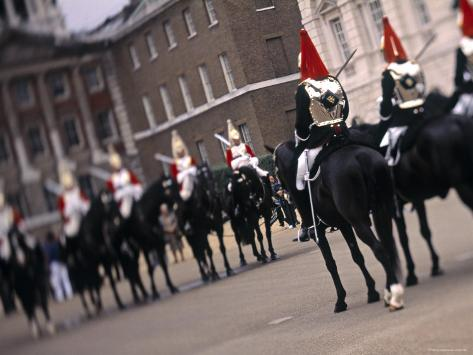Changing of the Guard, London, England Photographic Print