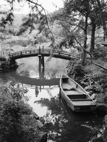 Detail of Shukkei-en Garden, Hiroshima, Japan Photographic Print