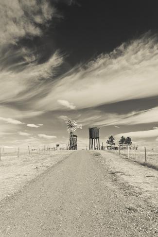 Farm, 1880 Town, Pioneer Village, Stamford, South Dakota, USA Photographic Print