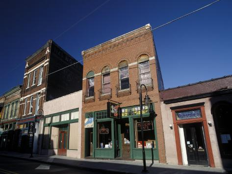 Historic Buildings in South Central Old City, Knoxville, Tennessee Photographic Print