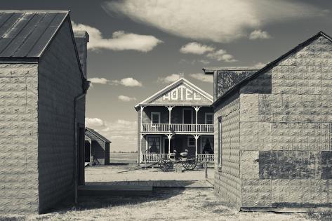 Hotel, 1880 Town, Pioneer Village, Stamford, South Dakota, USA Photographic Print