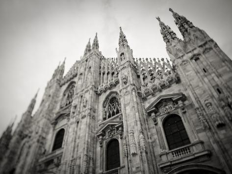 Lombardy, Milan, Piazza Duomo, Duomo Cathedral, Defocussed, Italy Photographic Print