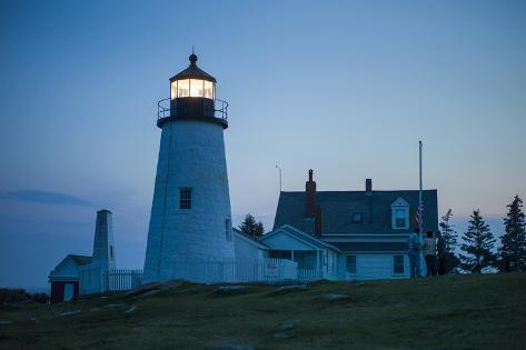 Maine, Pemaquid Point, Pemaquid Point Lighthouse