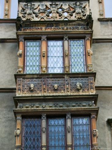 Maison des Tetes, Ornate Renaissance Building, Colmar, Haut Rhin, Alsace, France Photographic Print