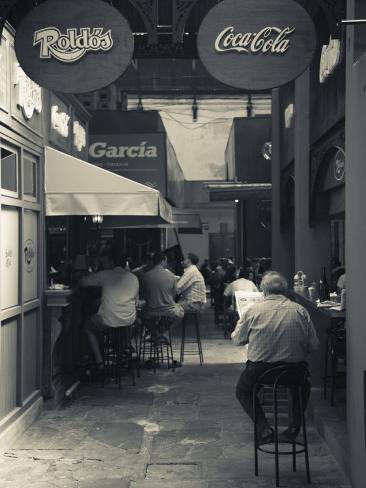 Montevideo, Mercado Del Puerto, Parilladas Grill Restaurants, Nr, Uruguay Photographic Print
