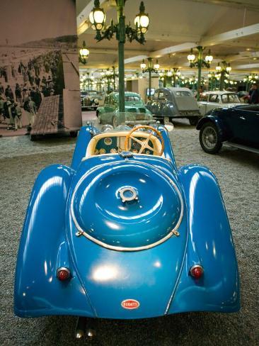 Musee National de l'Automobile, Bugatti Grille, Haut Rhin, France Photographic Print