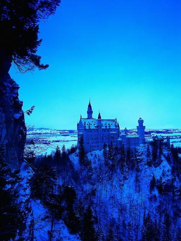 Neuschwanstein Castle, Bavaria, Germany Photographic Print