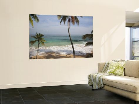 Playa Preciosa Beach, Abreu, North Coast, Dominican Republic Giant Art Print