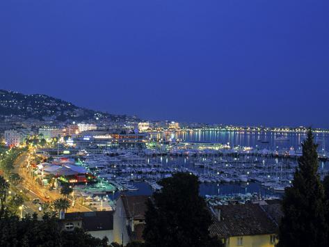 Port, Cannes, Cote d'Azur, France Photographic Print