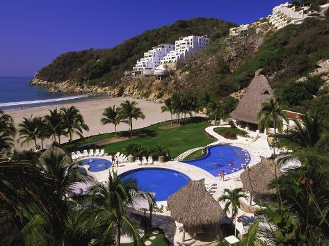 Punta Diamante Resort, Acapulco, Mexico Photographic Print