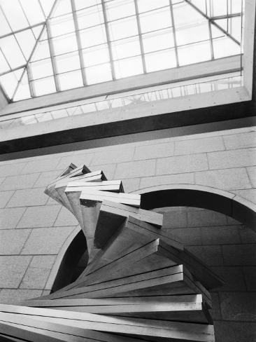 Sculpture at The National Gallery, Ottawa, Ontario, Canada Photographic Print