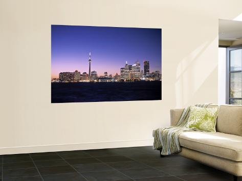 Skyline of Toronto, Ontario, Canada Wall Mural