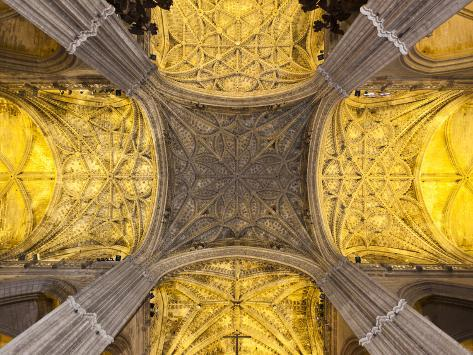 Spain, Andalucia Region, Seville Province, Seville, the Cathedral Photographic Print