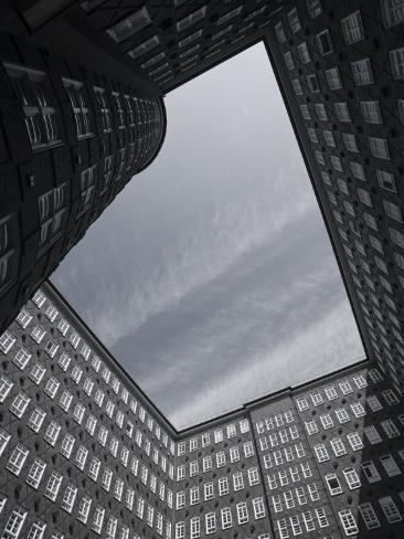 State of Hamburg, Hamburg, Merchant District, Sprinkenhof Office Building, Germany Photographic Print