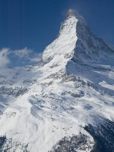 The Matterhorn, Zermatt, Valais, Wallis, Switzerland Photographic Print